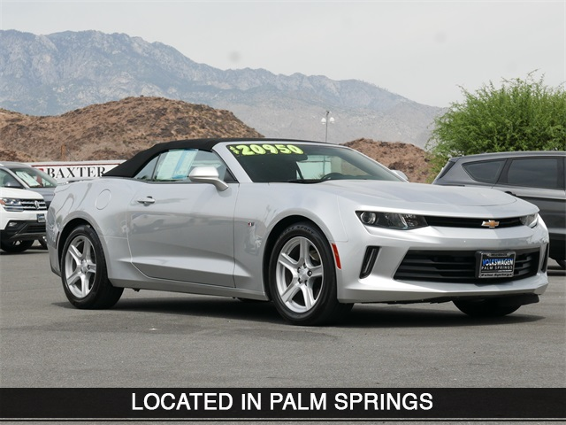 Pre-Owned 2018 Chevrolet Camaro 1LT RWD 2D Convertible